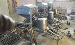 Kelgin Üretimi Kabak Ekim Makinesi